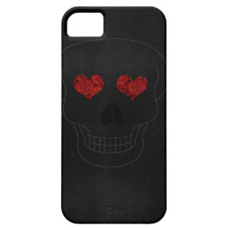 Skull & Roses case iPhone 5 Carcasas