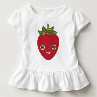 Skullberry, fresa dulce que tiene el granuja ido camiseta de bebé