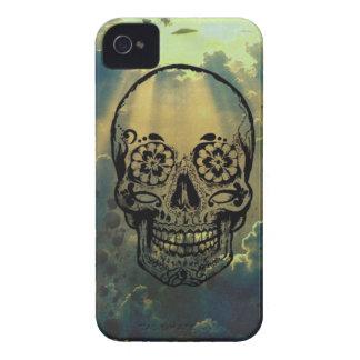 Sky & Skull Case-Mate iPhone 4 Cárcasas