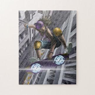 Skyboarder en Atlanta Puzzles Con Fotos