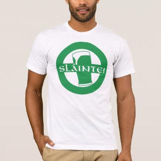 Slainte camisa irlandesa