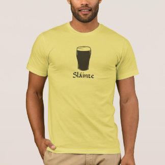 Sláinte, camiseta irlandesa de la tostada