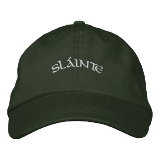 Sláinte - casquillo gorra bordada