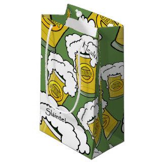 ¡Sláinte! (Salud) el día de St Patrick feliz Bolsa De Regalo Pequeña