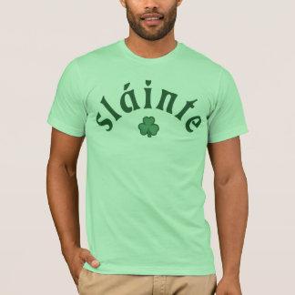 Slainte [trébol] camiseta