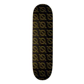 Slasherpoint monopatín amarillo y negro de Zero™