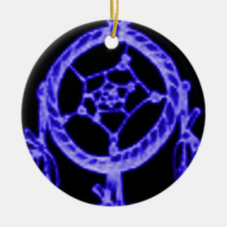 'Sleep azul eléctrico Ornamento Para Reyes Magos