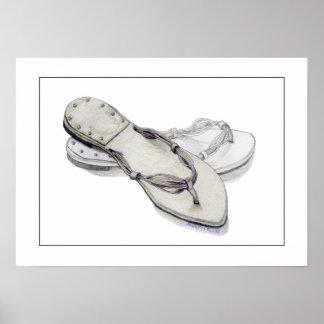 Slippers Print