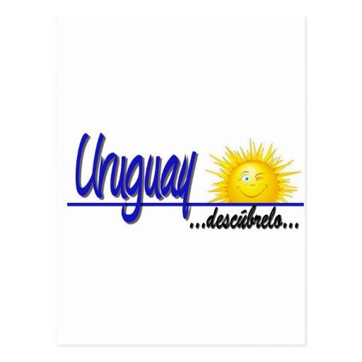 slogan Uruguay sol Postal