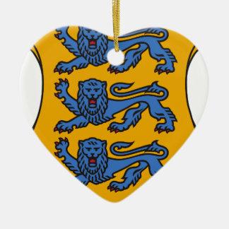 Small_coat_of_arms_of_Estonia. Adorno De Cerámica