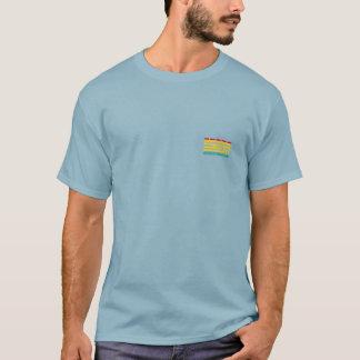 Small Logo OHOHUIHCAN Men Blue Camiseta