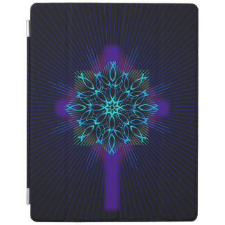 Smart Cover Para iPad Mandala y cruz de los pescados