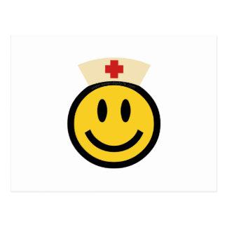 Smiley de la enfermera postal