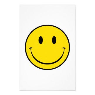 Smiley de la escuela vieja papelería
