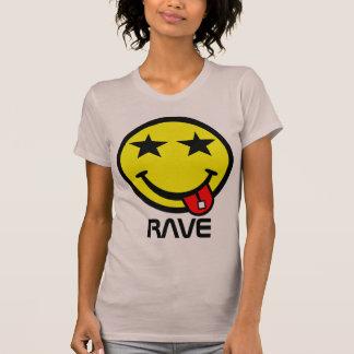 Smiley del ácido del delirio de Kawaii Camiseta