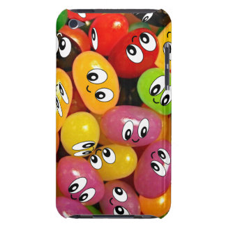 Smiley lindos de la haba de jalea iPod touch cárcasa