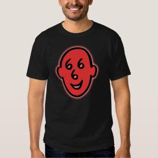 Smiley satánico 666 camisetas