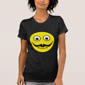 Smilie bigote smiley moustache camiseta