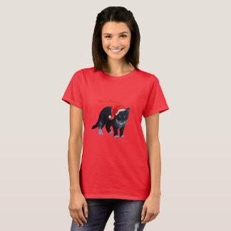 Smoking del gato del gatito de las camisetas del
