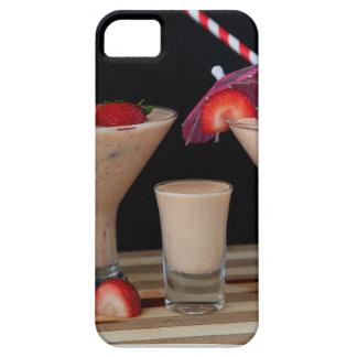 Smoothie de la fresa iPhone 5 Case-Mate carcasas
