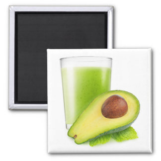Smoothie del aguacate imán