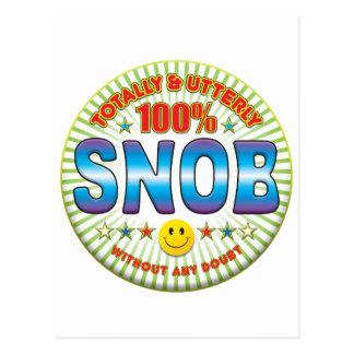 Snob totalmente postales