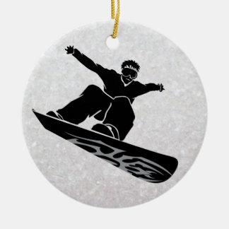 snowboarder ornamentos para reyes magos