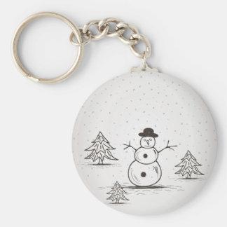 snowman2 llavero