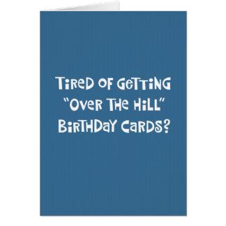 """""""Sobre 50.o humor de la tarjeta de cumpleaños de l"""