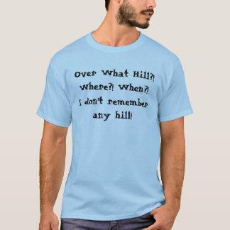"""""""Sobre camiseta de la colina"""""""