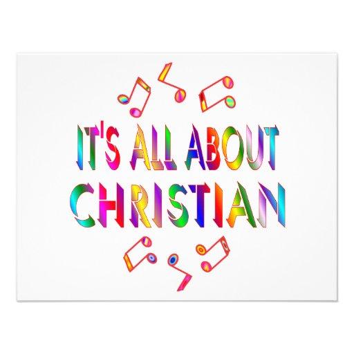 Sobre cristiano invitaciones personalizada