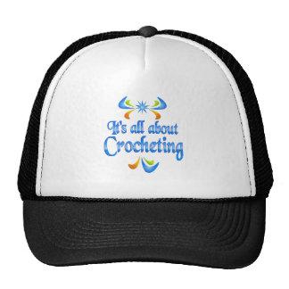 Sobre Crocheting Gorra