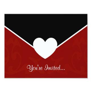 Sobre de la tarjeta del día de San Valentín Invitación 10,8 X 13,9 Cm