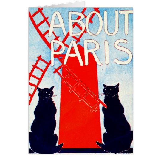 Sobre el anuncio 1895 de París