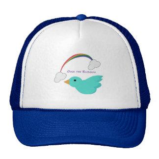 Sobre el arco iris gorra
