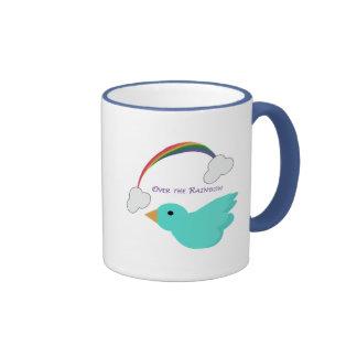 Sobre el arco iris tazas