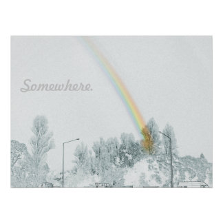 Sobre el poster del arco iris 1 póster