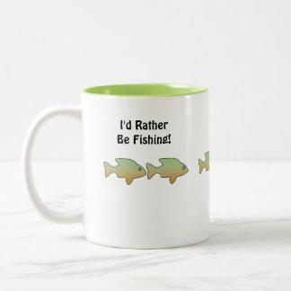"""Sobre el Th """" estaría pescando bastante"""", los pesc Taza De Café"""