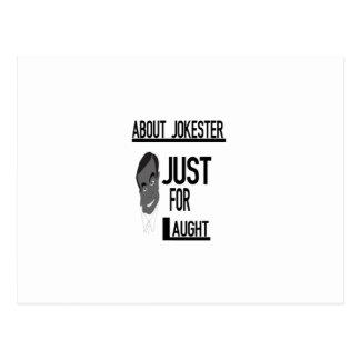 Sobre Jokester apenas para la risa Tarjetas Postales