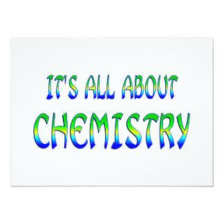 Sobre química comunicados personales