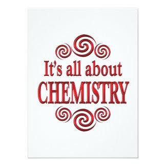 Sobre química invitacion personal