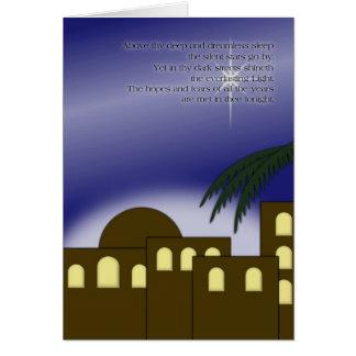 """""""Sobre thy… """"tarjeta de felicitación profunda"""