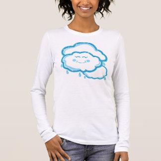 Sobre todo nublado camiseta de manga larga