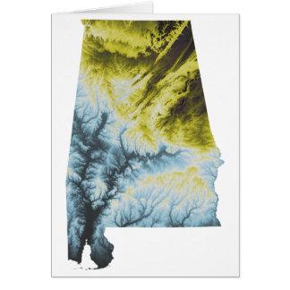 Sobres de la tarjeta de felicitación de Alabama