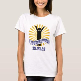 Sobreviví 12.21.12 camiseta