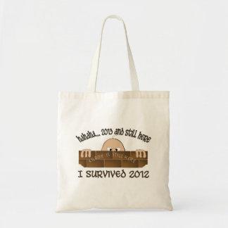 """""""Sobreviví 2012"""" bolsos Bolsa De Mano"""