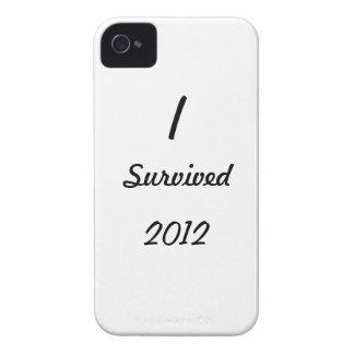 ¡Sobreviví 2012! iPhone 4 Fundas