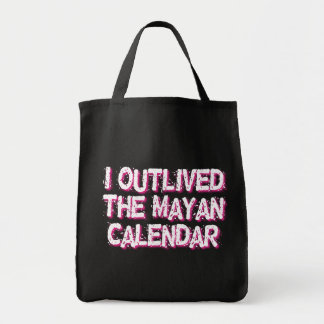 Sobreviví al calendario maya bolsa de mano