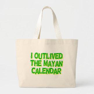 Sobreviví al calendario maya bolsas de mano