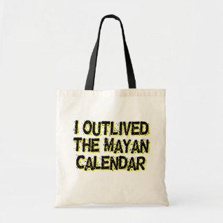 Sobreviví al calendario maya bolsa tela barata